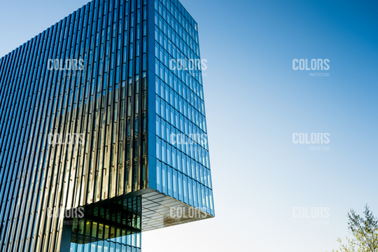Building in Medienhafen, Dusseldorf