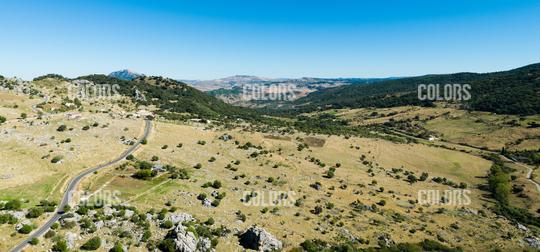 Landscape in Grazalema